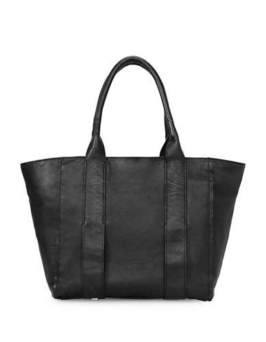 Liebeskind Kindi Leather Tote-BLACK-One Size 89105436_BLACK_One Size