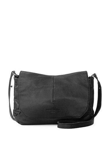 Liebeskind Marobela Leather Messenger Bag-BLACK-One Size