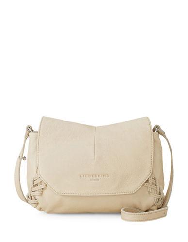 Liebeskind Massawa Leather Messenger Bag-BEIGE-One Size