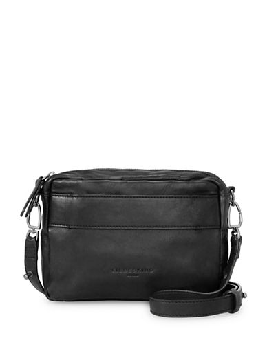 Liebeskind Togo Leather Crossbody Bag-BLACK-One Size