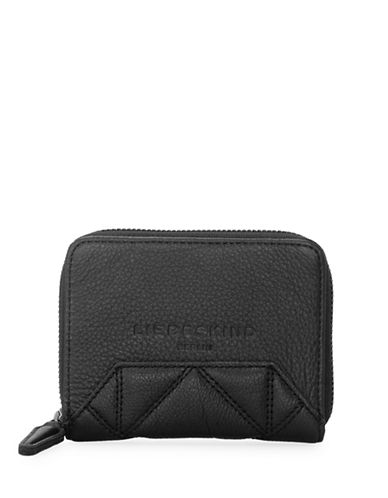Liebeskind Connys7 Leather Wallet-BLACK-One Size