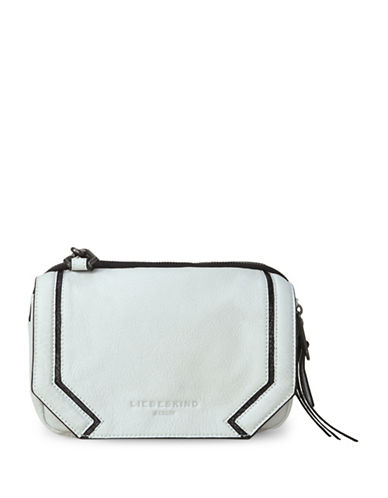 Liebeskind MaikeS7 Leather Crossbody Bag-WHITE-One Size