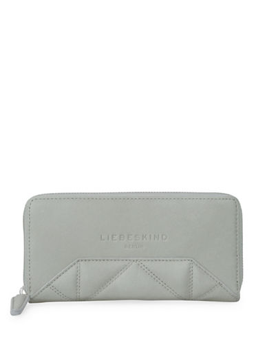 Liebeskind Sallys7 Leather Wallet-GREY-One Size