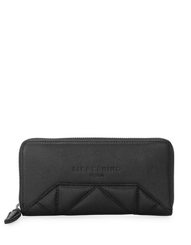 Liebeskind Sallys7 Leather Wallet-BLACK-One Size