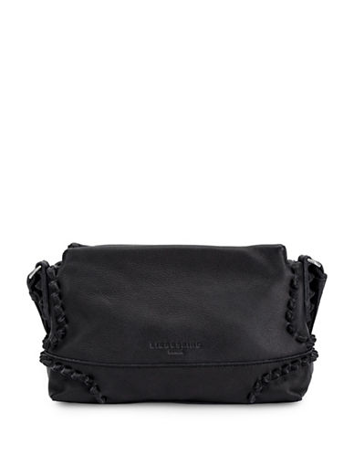 Liebeskind Sapporo S7 Leather Crossbody Bag-BLACK-One Size