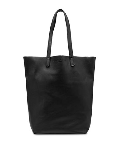 Liebeskind Viki Leather Tote-BLACK-One Size