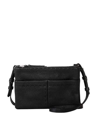 Liebeskind Greensboro Leather Crossbody Bag-BLACK-One Size