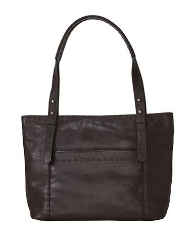 Liebeskind Harrison Leather Shoulder Bag-BROWN-One Size