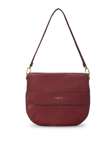 Liebeskind PaolaH7 Leather Shoulder Bag-RED-One Size