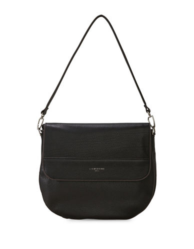 Liebeskind PaolaH7 Leather Shoulder Bag-BLACK-One Size