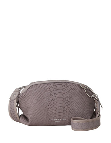 Liebeskind Tuscon Leather Crossbody Bag-BEIGE-One Size