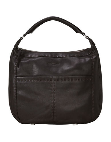 Liebeskind Yonkers Leather Handbag-BROWN-One Size