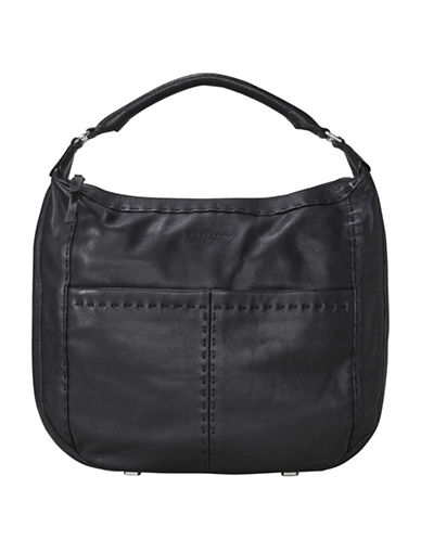 Liebeskind Yonkers Leather Handbag-BLACK-One Size