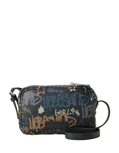 Liebeskind Pelham Graffiti Crossbody Bag-BLACK-One Size