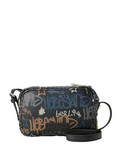 Liebeskind Pelham Graffiti Crossbody Bag-BLACK-One Size