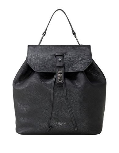 Liebeskind Wisconsin Backpack-BLACK-One Size