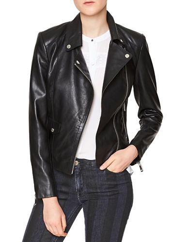 Liebeskind Classic Biker Jacket-BLACK-Large