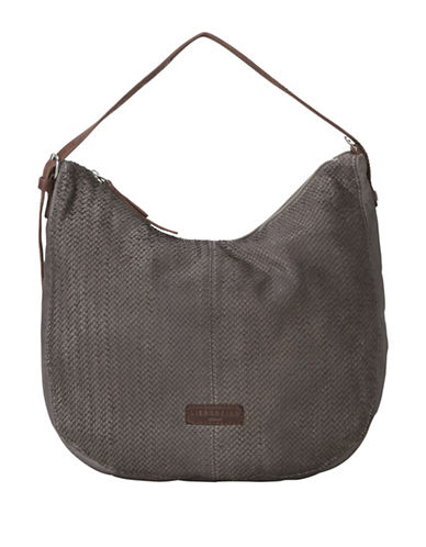 Liebeskind Chatsworth Vintage Crossbody Bag-GREY-One Size