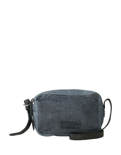 Liebeskind Dibajah 7 Leather Crossbody Bag-BLUE-One Size