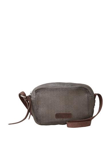 Liebeskind Dibajah 7 Leather Crossbody Bag-GREY-One Size