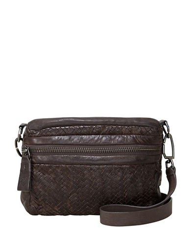 Liebeskind Colorado Leather Crossbody Bag-BROWN-One Size