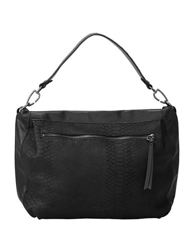 Liebeskind Miramar Sporty Vintage Hobo Bag-BLACK-One Size