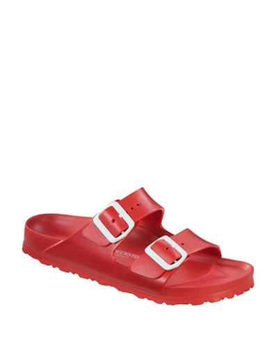 Birkenstock Womens Arizona EVA Sandals-RED-EUR 39/US 8