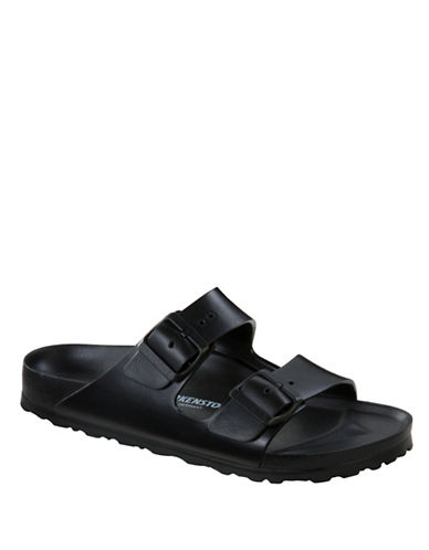 Birkenstock Arizona Slide Sandals-BLACK-EU 43/US 10