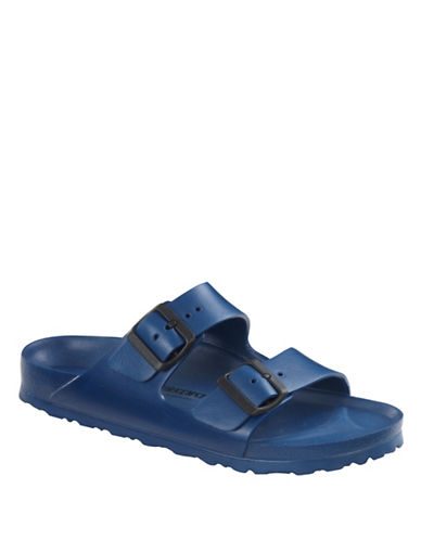 Birkenstock Mens Arizona Slide Sandals-NAVY-EU 41/US 8