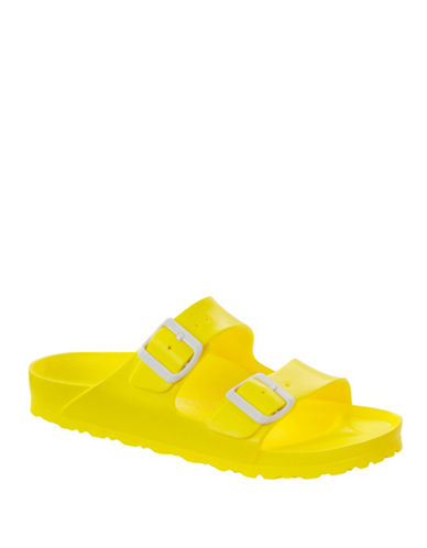 Birkenstock Arizona EVA Rubber Sandals-NEON YELLOW-EUR 37/US 7