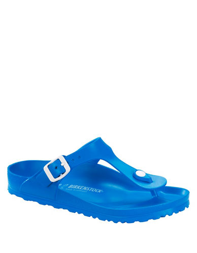 Birkenstock Gizeh T-Strap Sandals-BLUE-EUR 38/US 7