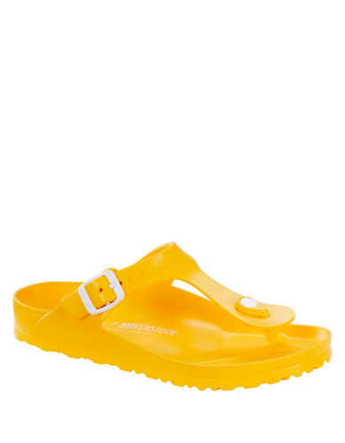 Birkenstock Gizeh Thong Sandals-YELLOW-EUR 38/US 7