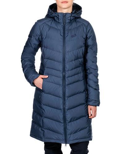 Jack Wolfskin Selenium Down Coat-BLUE-Large