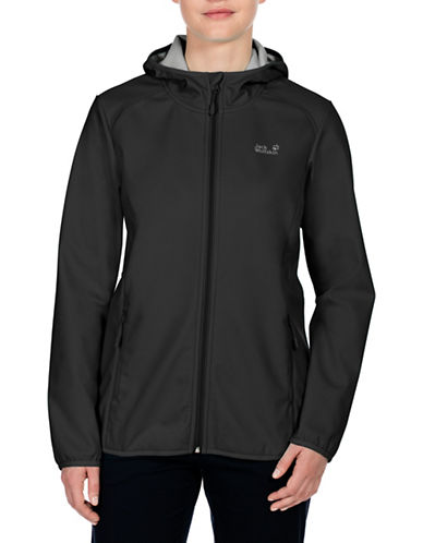 Jack Wolfskin Northern Point Softshell Jacket-BLACK-X-Small