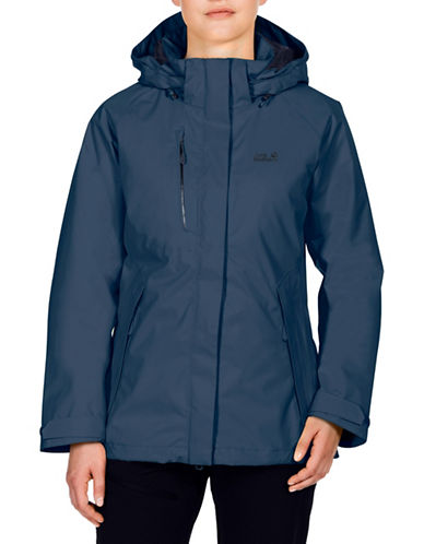 Jack Wolfskin Northern Edge Hardshell Jacket-DARK SKY-X-Small
