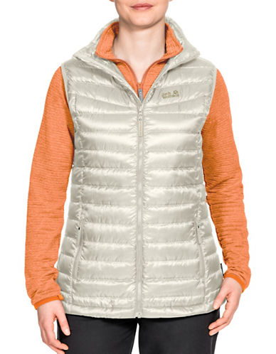 Jack Wolfskin Tongari Vista Jacket-WHITE SAND-Small
