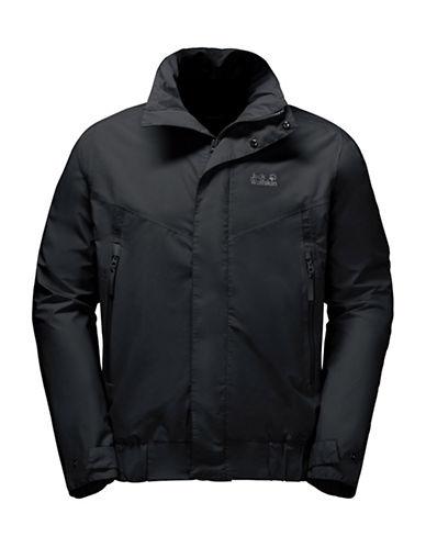 Jack Wolfskin Brooklyn Softshell Blouson Jacket-BLACK-Small 89010752_BLACK_Small