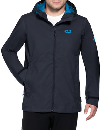 Jack Wolfskin Arroyo Jacket-NIGHT BLUE-Large