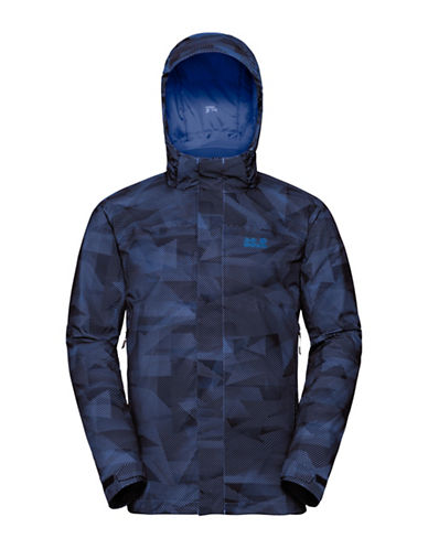 Jack Wolfskin Mountain Edge Jacket-BLUE-XX-Large