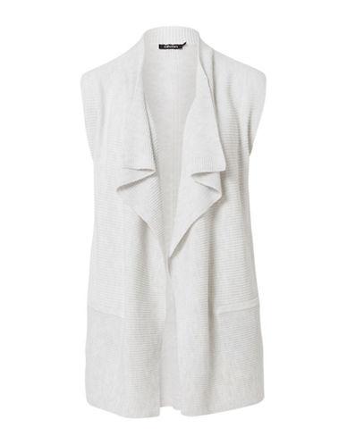 Olsen Drape Neck Vest-OFF-WHITE-EUR 46/US 16