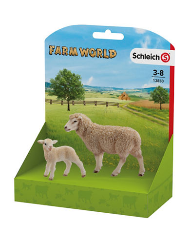 Schleich Two-Piece Sheep and Lamb Toy Set-MULTI-One Size