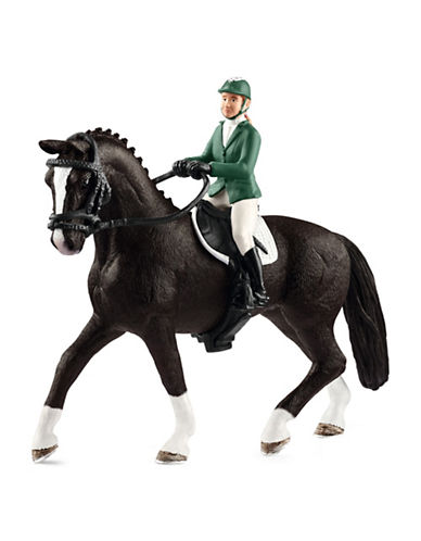 Schleich Show Jumper and Horse Toy Set 89637116