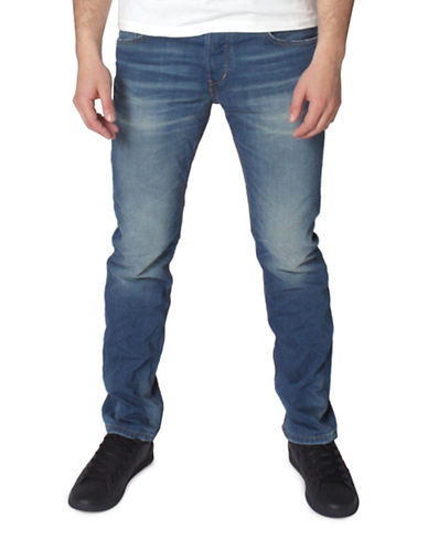Tom Tailor Aedan Slim Solid Denim Jeans-BLUE-33X32