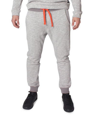 Tom Tailor Structured New Fit Sweatpants-GREY-Small