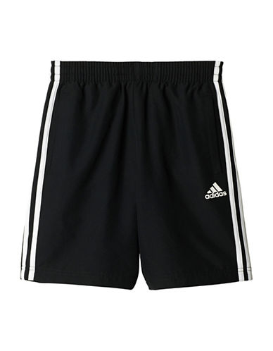 Adidas Essentials 3-Striped Shorts-BLACK-Large 89158535_BLACK_Large