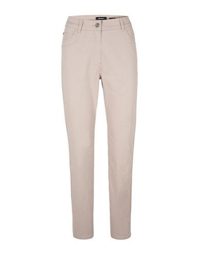 Olsen Mona Slim Pants-BEIGE-EUR 36/US 6