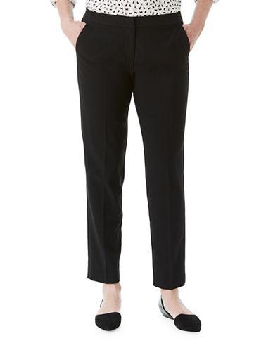 Olsen Lisa Tuxedo Pants-BLACK-EUR 36/US 6