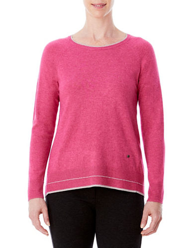 Olsen Hi-Lo Sweater-PINK-EUR 36/US 6