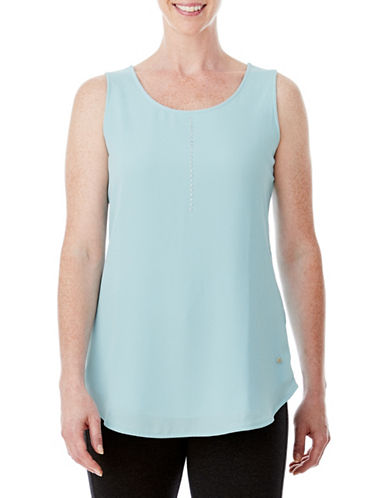 Olsen Long Tank Top-BLUE-EUR 42/US 12