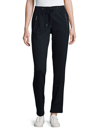 Olsen Lisa Pull-On Jogger Pants-BLUE-EUR 34/US 4